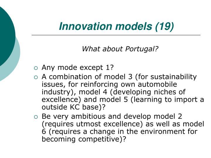 Innovation models (19)