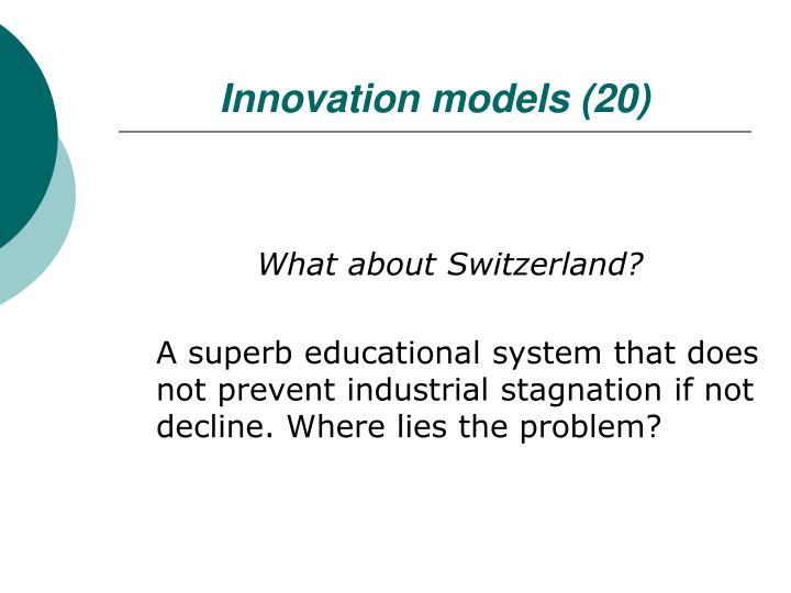 Innovation models (20)