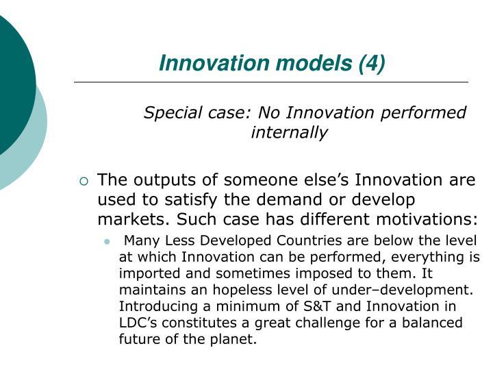 Innovation models (4)