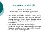 innovation models 9