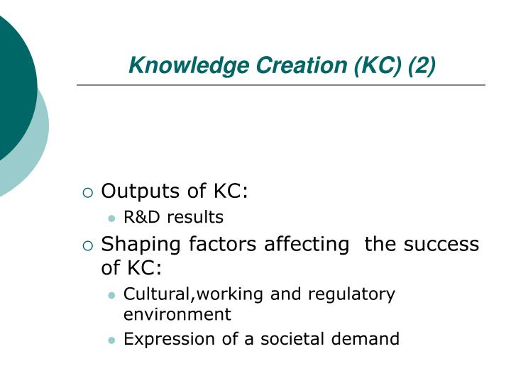 Knowledge Creation (KC) (2)