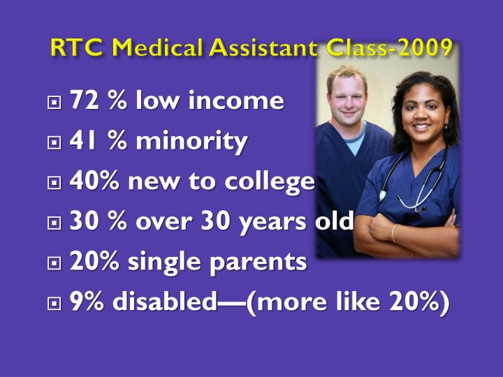 RTC Medical Assistant Class-2009