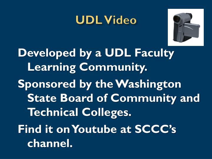 UDL Video
