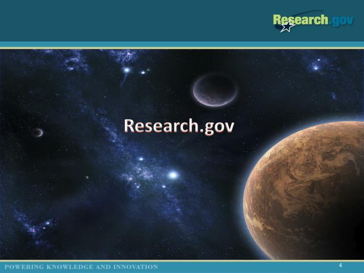 Research.gov
