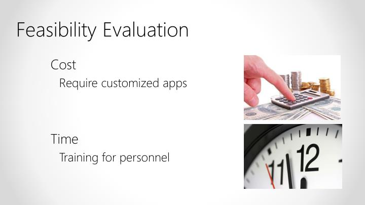 Feasibility Evaluation