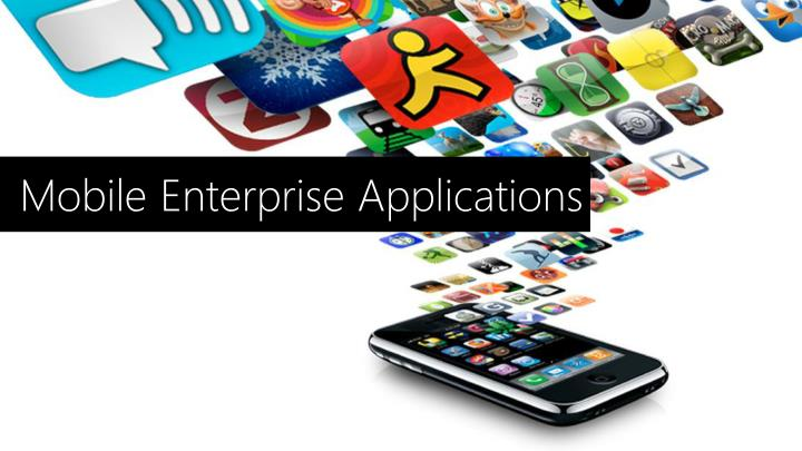 Mobile Enterprise Applications