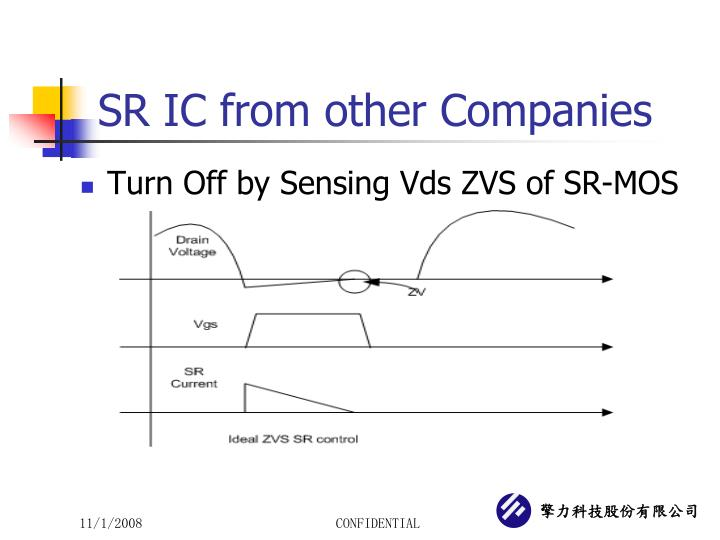 SR IC from other Companies