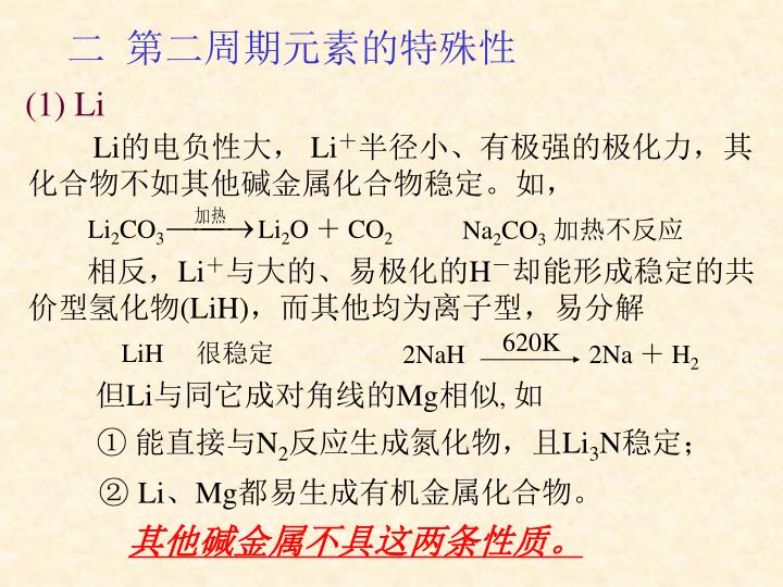 (1) Li
