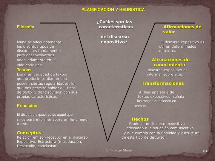 PLANIFICACION V