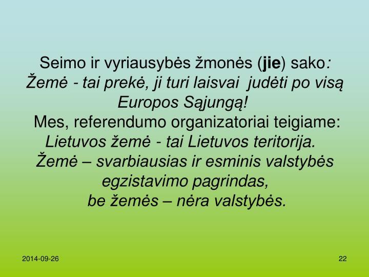 Seimo ir vyriausybės žmonės (