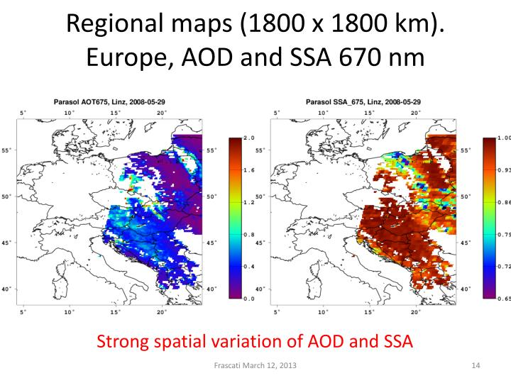 Regional maps