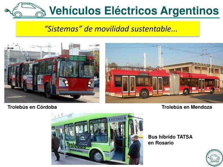 Vehículos Eléctricos Argentinos