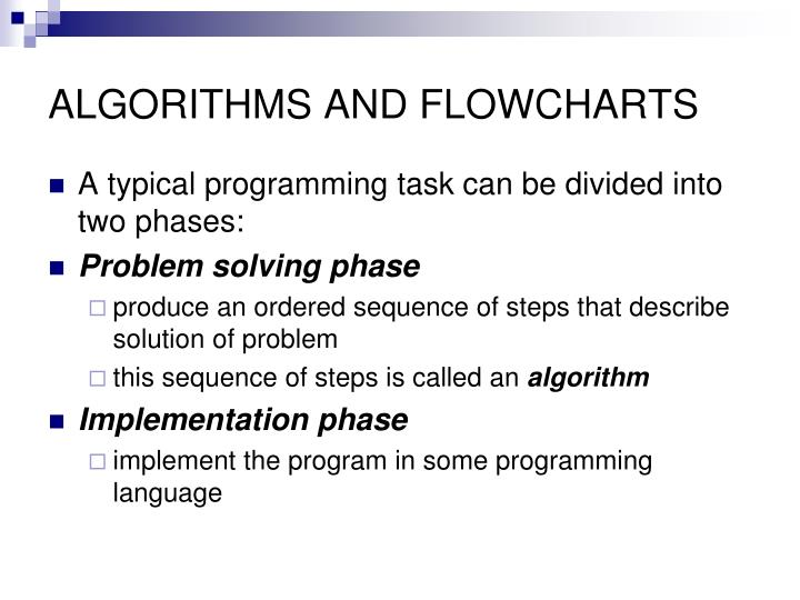 Algorithms and flowcharts1