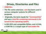 drives directories and file s8