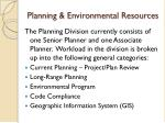 planning environmental resources2