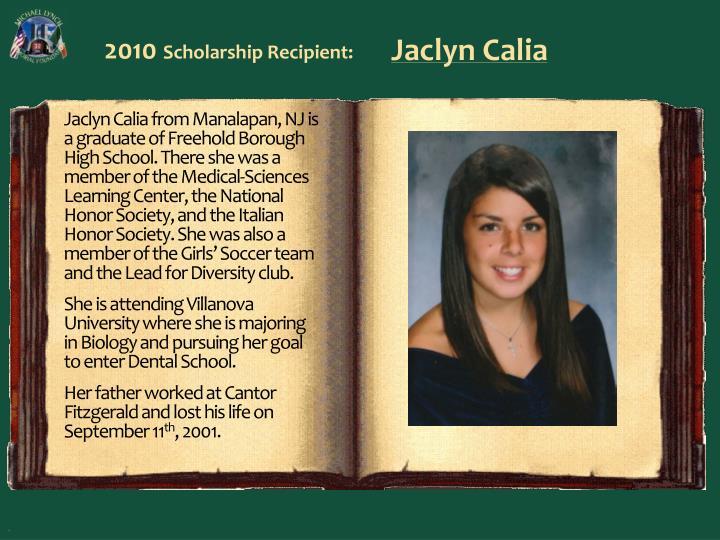 Jaclyn Calia