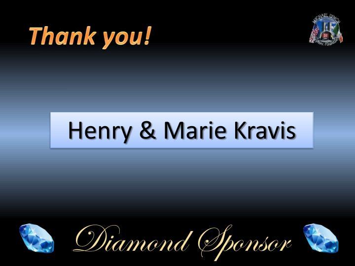 Henry & Marie Kravis