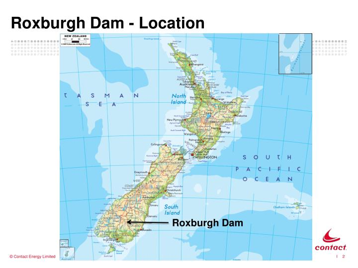 Roxburgh dam location