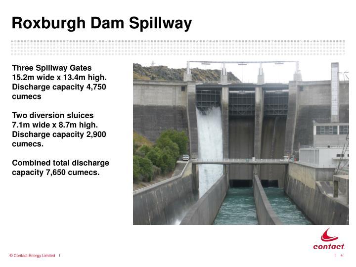 Roxburgh Dam Spillway