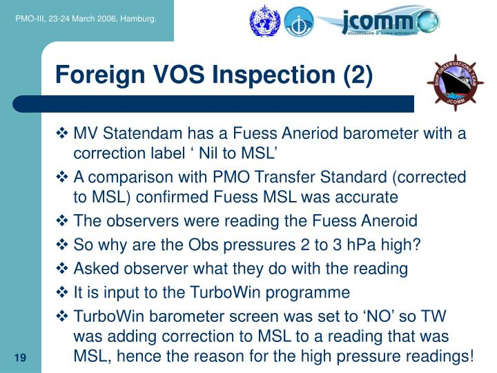 Foreign VOS Inspection (2)