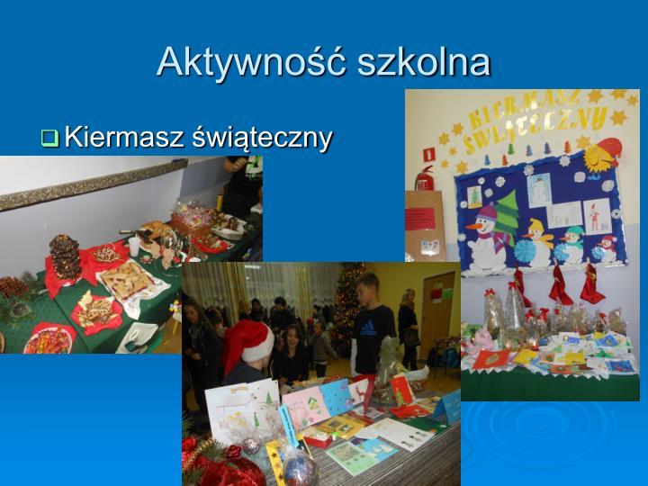 Aktywność szkolna