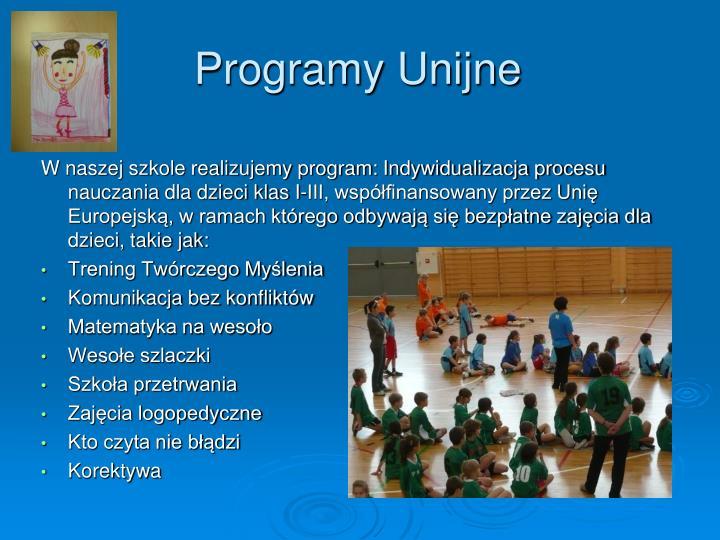 Programy Unijne