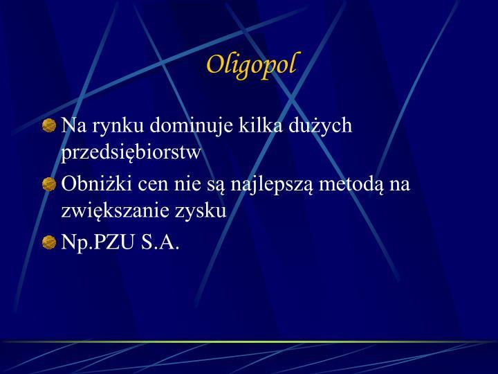 Oligopol