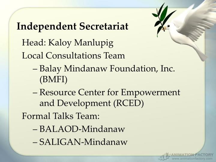 Independent Secretariat