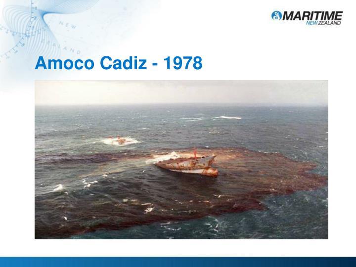 Amoco Cadiz - 1978