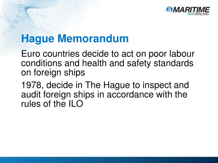 Hague Memorandum
