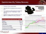 camrick area co 2 tertiary recovery