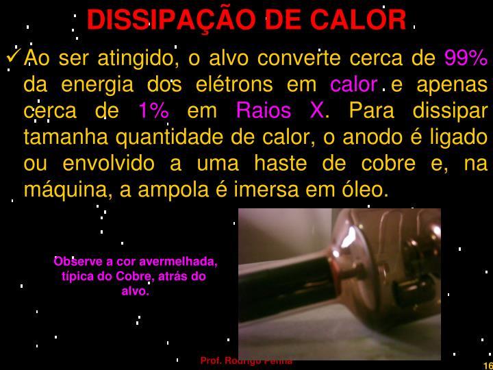 DISSIPAÇÃO DE CALOR