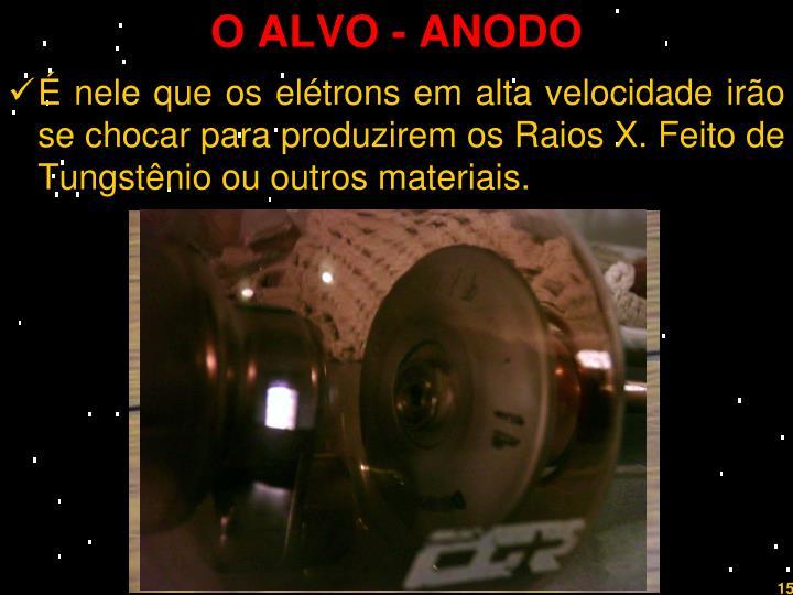 O ALVO - ANODO