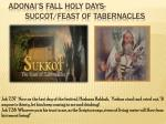 adonai s fall holy days succot feast of tabernacles1