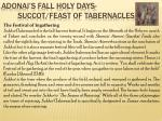 adonai s fall holy days succot feast of tabernacles12