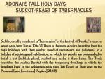 adonai s fall holy days succot feast of tabernacles5