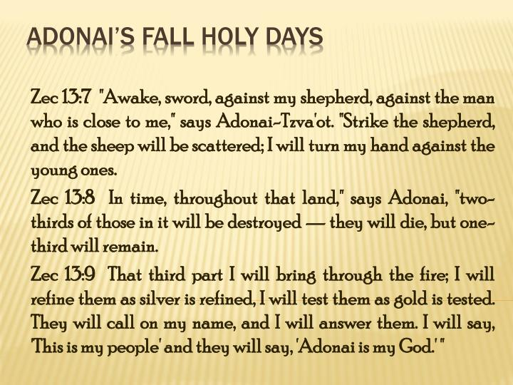 Adonai s fall holy days1