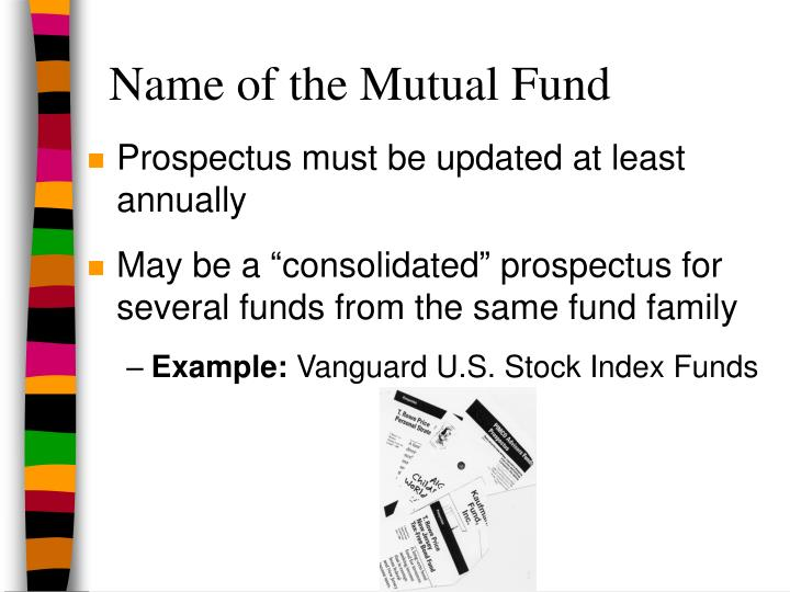 Name of the Mutual Fund