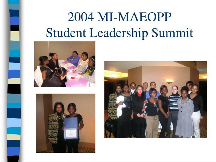 2004 MI-MAEOPP