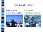 and local history