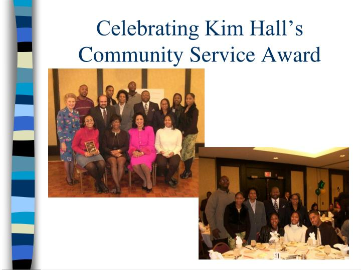 Celebrating Kim Hall's