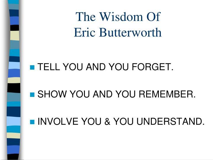 The Wisdom Of