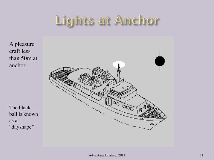 Lights at Anchor
