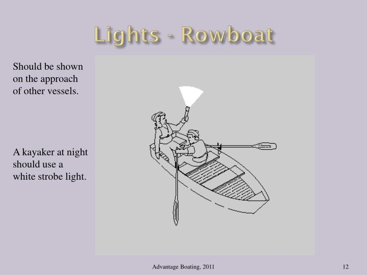 Lights - Rowboat