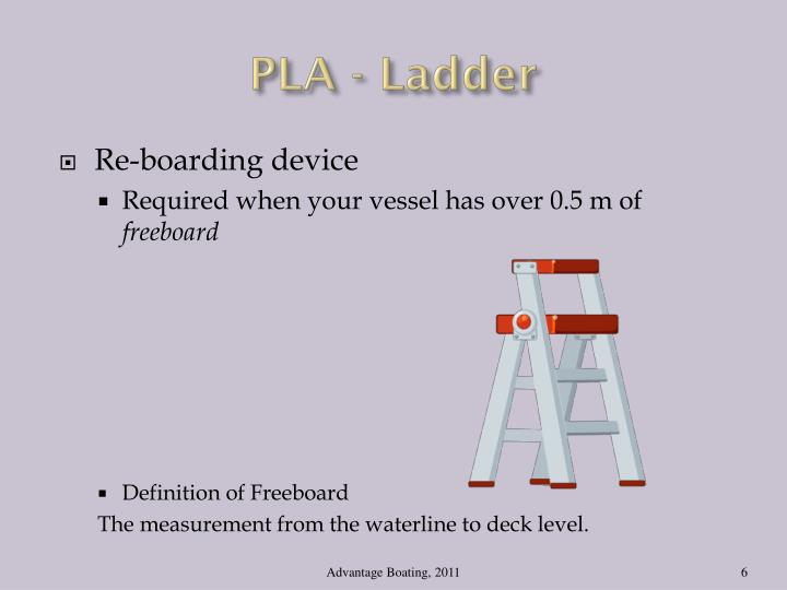 PLA - Ladder
