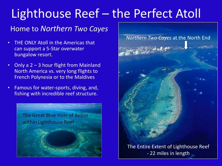 Lighthouse Reef – the Perfect Atoll