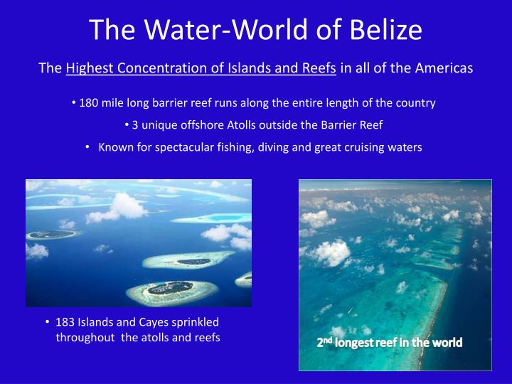 The Water-World of Belize