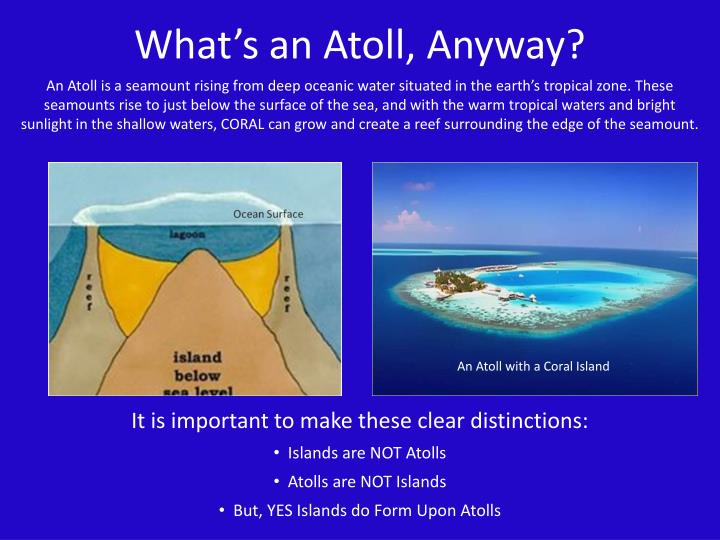 What's an Atoll, Anyway?
