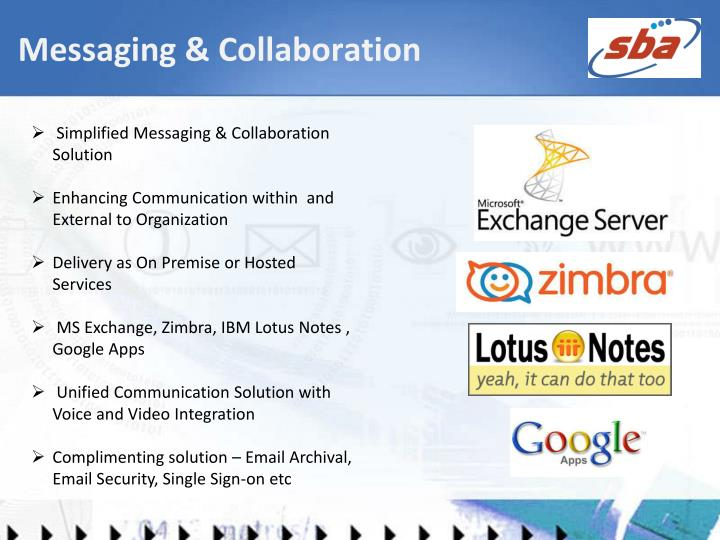 Messaging & Collaboration