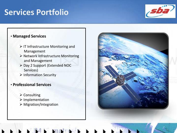 Services Portfolio